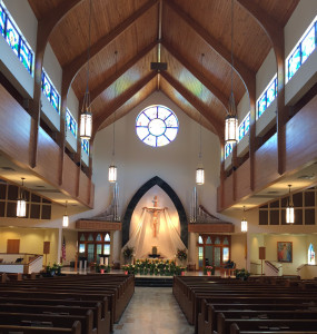 St. Patrick Catholic Church, Palm Beach Gardens, FL. Photographed by Jennifer Carrera Turner